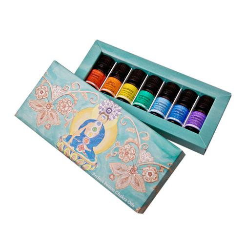 Chakra essential oils balancing kit